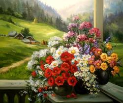 Picturi de toamna Toamna in pridvor