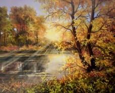 Picturi de toamna Toamna la apus