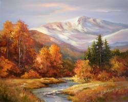 Picturi de toamna Toamna montana