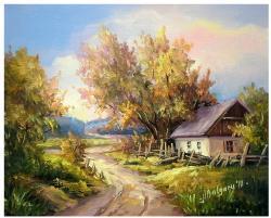 Picturi de toamna TOAMNA RURALA (2)
