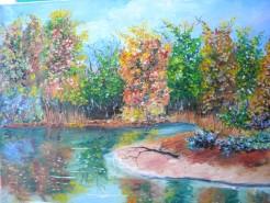 Picturi de toamna Mal de lac