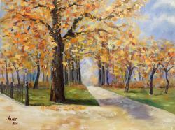 Picturi de toamna Peisaj de toamna -