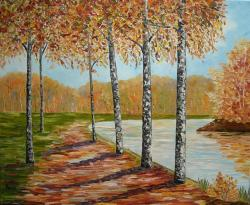 Picturi de toamna Toamna - simfonie de culori