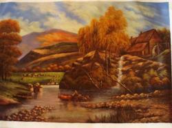 Picturi de toamna Moara pe deal .