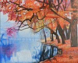 Picturi de toamna Toamna parc