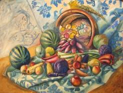Picturi de toamna Cornucopia- simbolul abundentei