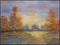 Picturi de toamna Peisaj de toamna 3