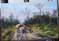 Picturi de toamna  intrarea in sat