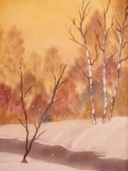 Picturi de toamna vine iarna