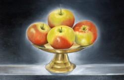 Picturi de toamna Still life cu mere