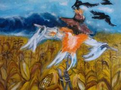 Picturi de toamna jeesper dessper,,frisoane de octombrie