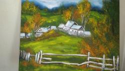 Picturi de toamna peisaj de munte