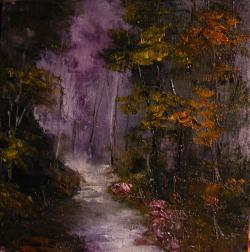 Picturi de toamna Cararea toamnei violet