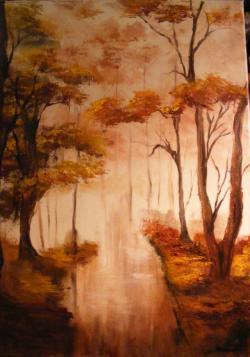 Picturi de toamna Melancolie ploioasa