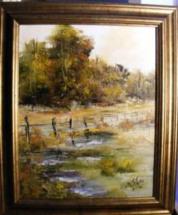Picturi de toamna Padure toamna dupa ploaie