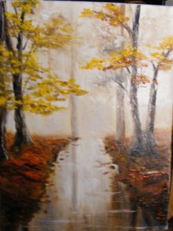 Picturi de toamna Parcul in toamna
