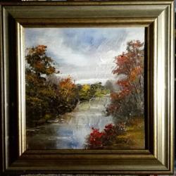 Picturi de toamna Toamna apelor