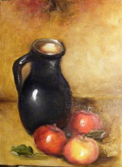Picturi de toamna Vas si mere
