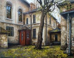 Picturi de toamna case vechi 2, toamna, 2016