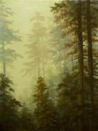 Picturi de toamna Dimineata la munte