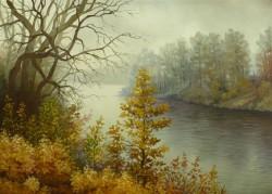 Picturi de toamna Malul siretului