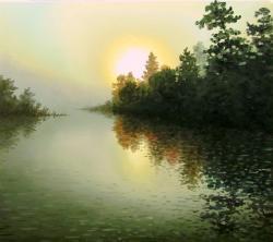 Picturi de toamna soare prin negura