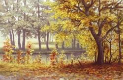 Picturi de toamna Soarele diminetii