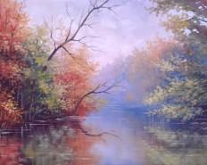 Picturi de toamna Toamna pe lac