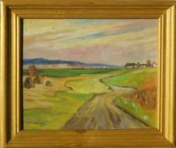 Picturi de toamna drum spre ferma