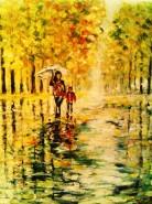Picturi de toamna Ploaie
