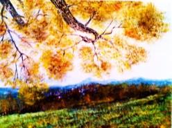 Picturi de toamna Satul