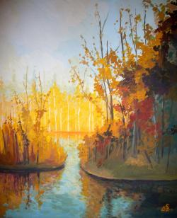 Picturi de toamna Reflexion 1