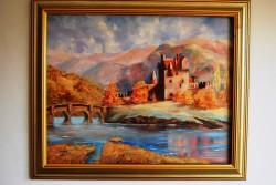 Picturi de toamna Eilean donan castle