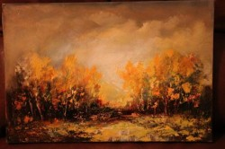 Picturi de toamna Apus de soare
