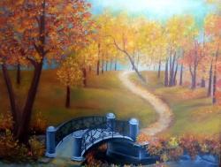 Picturi de toamna Autunno nel parco