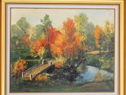 Picturi de toamna Peisaj de toamna 2