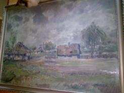 Picturi de toamna Sat innorat
