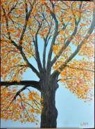 Picturi de toamna Happy tree