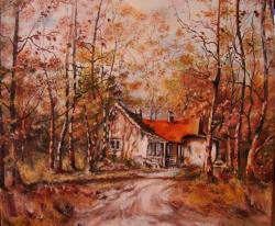 Picturi de toamna Padurea aurie