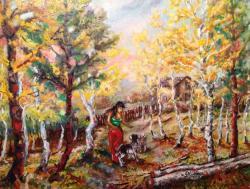 Picturi de toamna Caldura autumnala