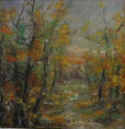 Picturi de toamna Crepuscul autumnal