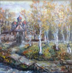Picturi de toamna Toamna la manastire