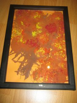 Picturi de toamna frunze cazatoare