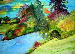 Picturi de toamna Culori ruginii