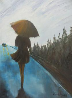 Picturi de toamna Zi ploioasa