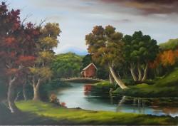 Picturi de toamna Toamna seara