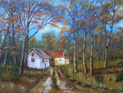 Picturi de toamna Culorile toamnei 1