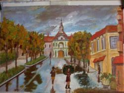 Picturi de toamna Culorile toamnei-2