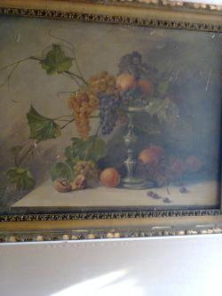 Picturi decor Un Cos cu fructe