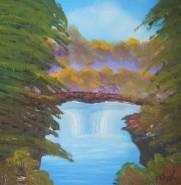 Picturi de toamna Cascada